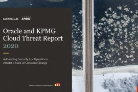 Oracle y KPMG Cloud Threat Report 2020